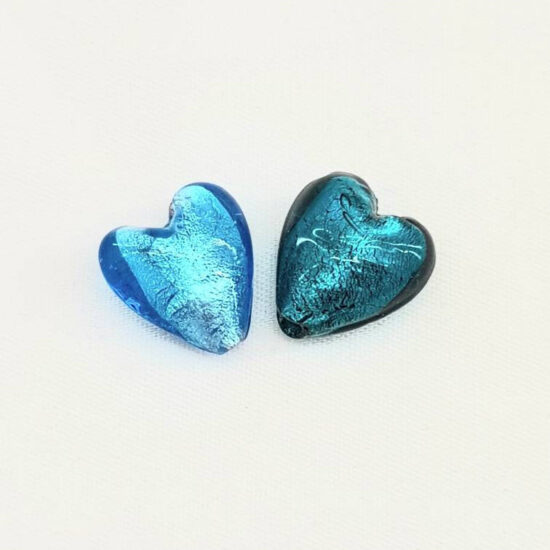 Murano Glass Heart 12mm
